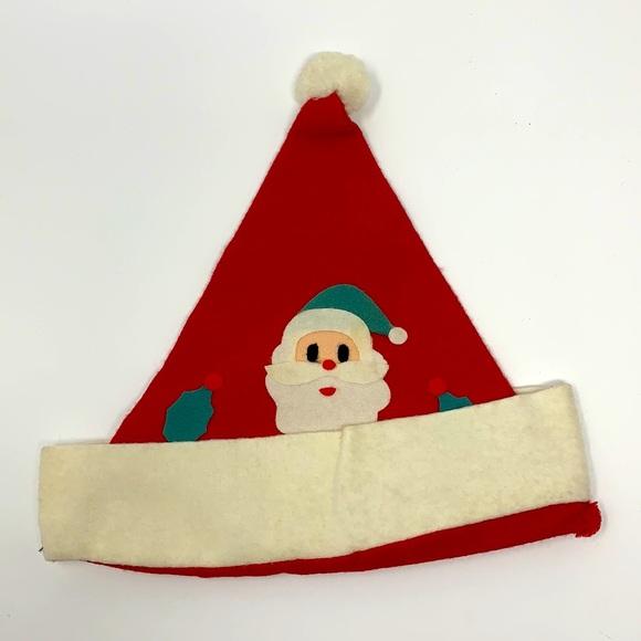 Santa Claus Christmas vintage hat